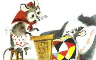 Аудиосказка Сказка о глупом мышонке