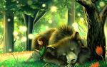 Заяц, косач, медведь и весна