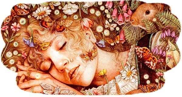 Картинка к сказке Анне Лисбет