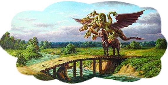 Картинка к сказке Бой на Калиновом мосту