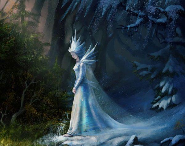 Картинка к сказке Дева льдов