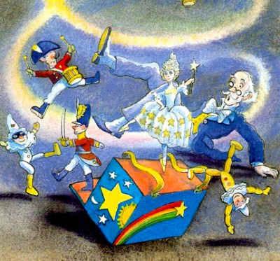 Картинка к сказке Директор кукольного театра