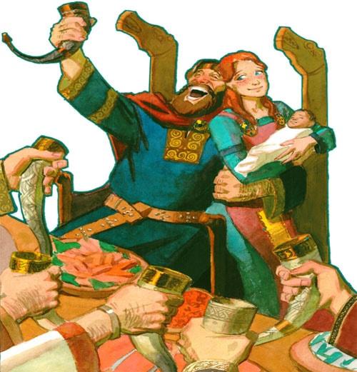 Картинка к сказке Дочь болотного царя