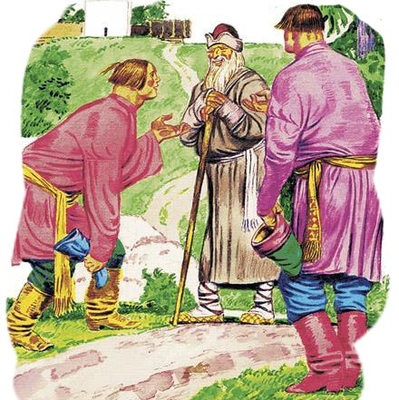 Картинка к сказке Два Ивана — солдатских сына