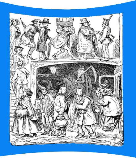 Картинка к сказке Двенадцать пассажиров