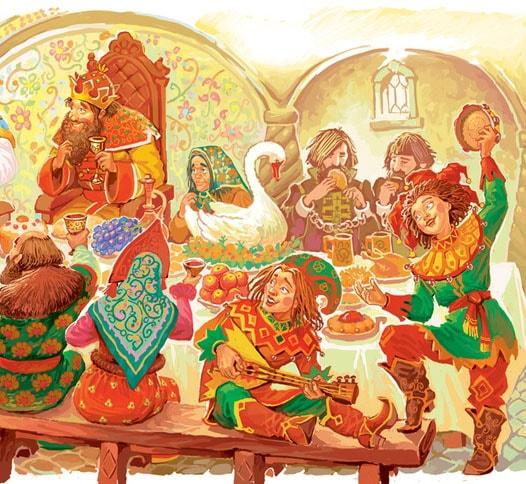 Картинка к сказке Горшеня