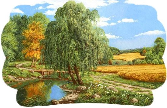 Картинка к сказке Гречиха