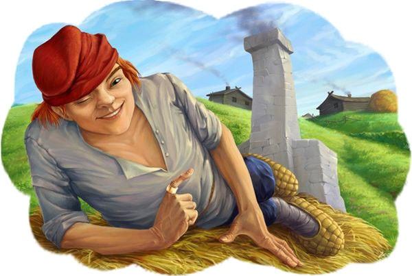 Картинка к сказке Иванушка-дурачок