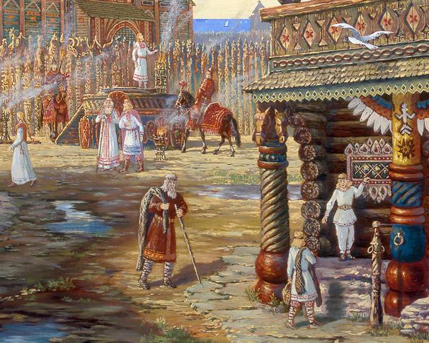 Картинка к сказке Батрак