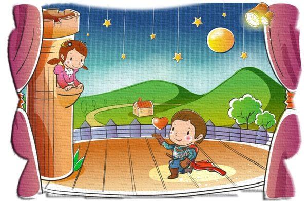 Картинка к сказке В детской