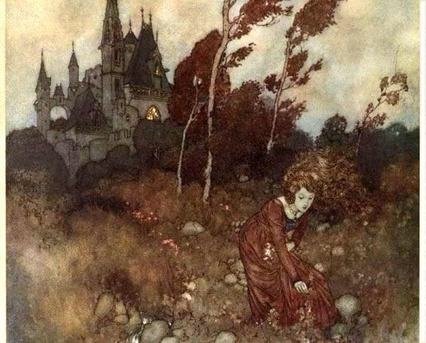 Картинка к сказке Ветер рассказывает о Вальдемаре До и его дочерях