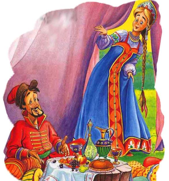 Картинка к сказке Жар-птица и Василиса-царевна