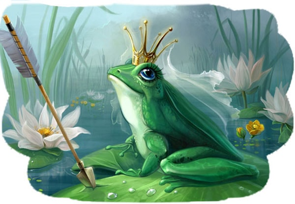 Картинка к сказке Царевна-лягушка