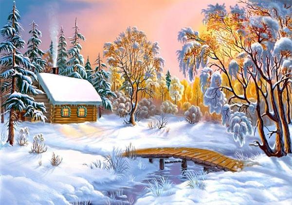 Картинка к сказке Что такое зима
