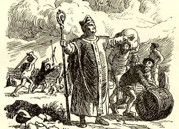 Картинка к сказке Епископ Бьёрглумский и его родичи