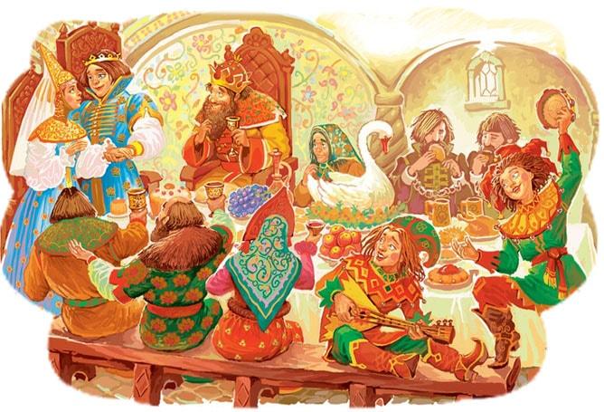 Картинка к сказке Финист — ясный сокол