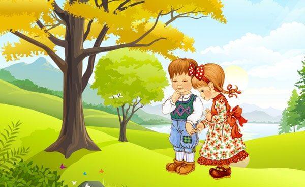 Картинка к сказке Иб и Христиночка