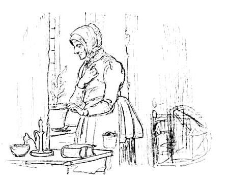 Картинка к сказке Из окна богадельни