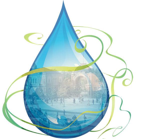 Картинка к сказке Капля воды