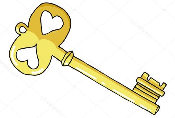 Картинка к сказке Ключ от ворот