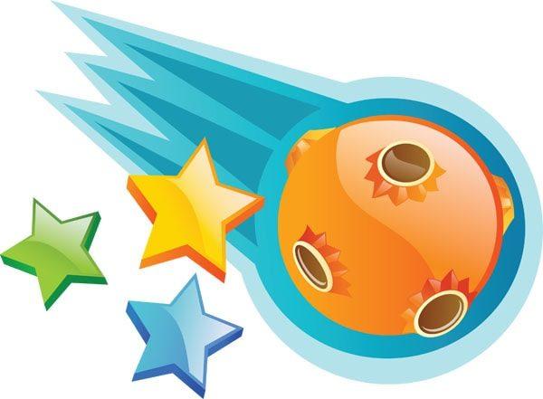 Картинка к сказке Комета