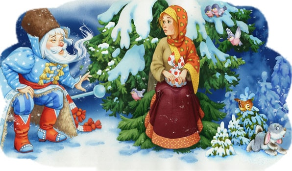 Картинка к сказке Морозко