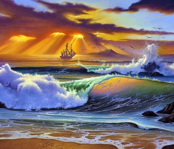 Картинка к сказке На дюнах