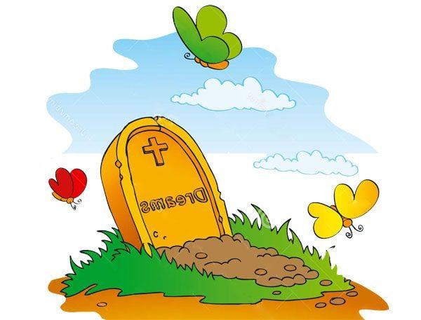 Картинка к сказке На могиле ребёнка