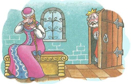 Картинка к сказке Наказанная царевна