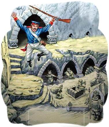 Картинка к сказке Окаменелое царство