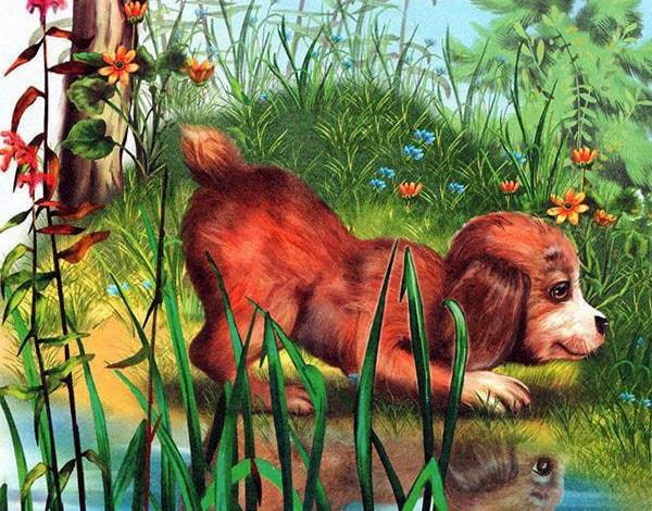 Картинка к сказке Первая охота