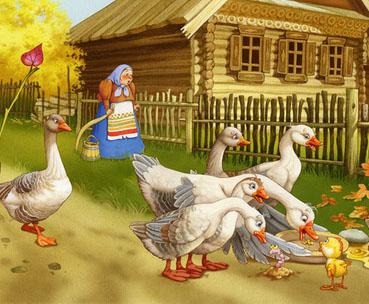 Картинка к сказке Птичьи разговоры