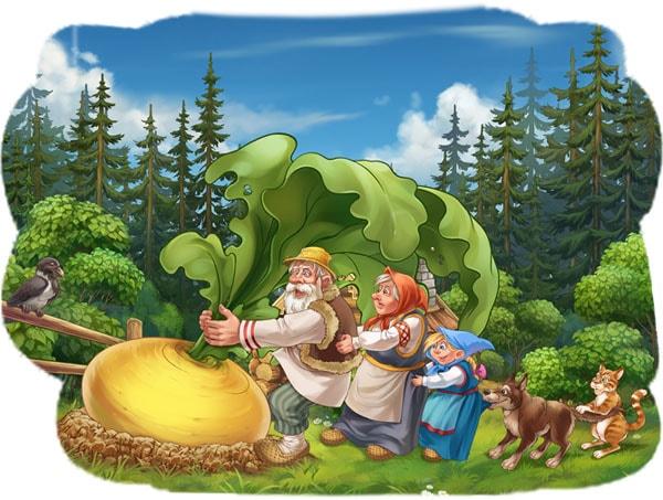 Картинка к сказке Репка