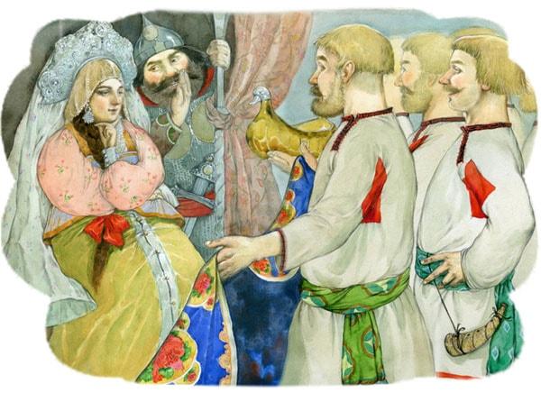 Картинка к сказке Семь Симеонов