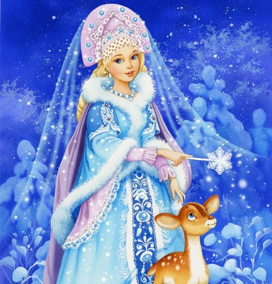 Картинка к сказке Снегурочка