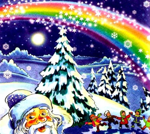 Картинка к сказке Стародавняя Новогодняя история