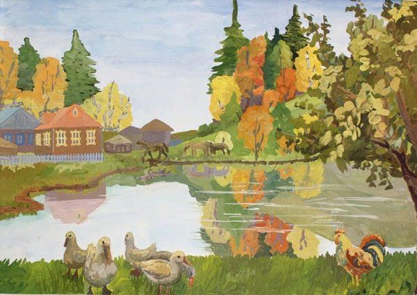 Картинка к сказке Демидовские кафтаны