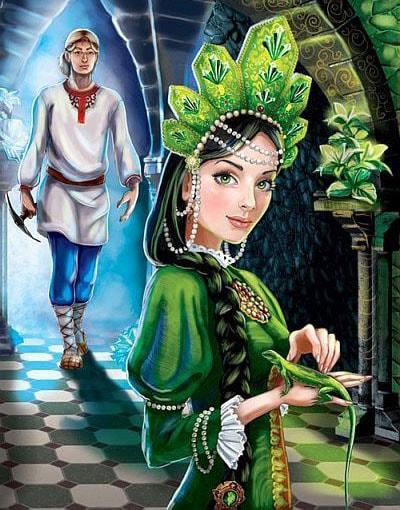Картинка к сказке Хозяйка Медной горы