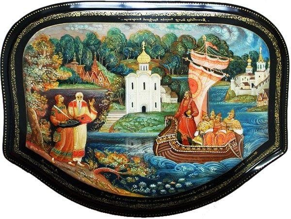 Картинка к сказке Хрустальный лак