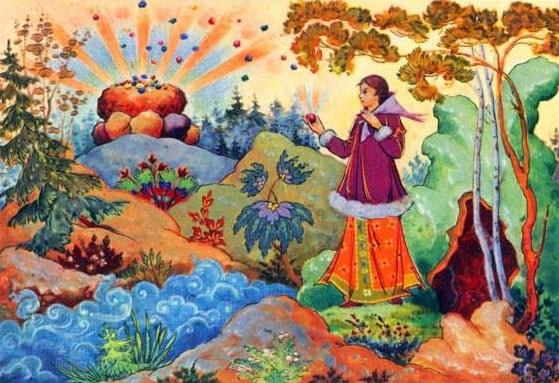 Картинка к сказке Ключ земли