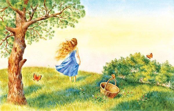 Картинка к сказке Рождественский сон