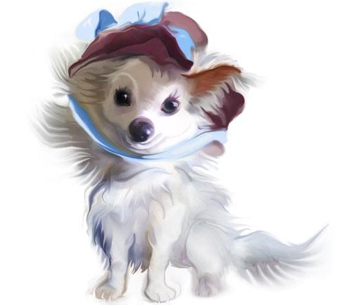 Картинка к сказке С кем разговаривают собаки