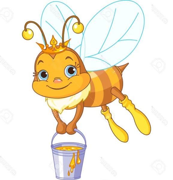 Картинка к Сказке о весёлой пчеле
