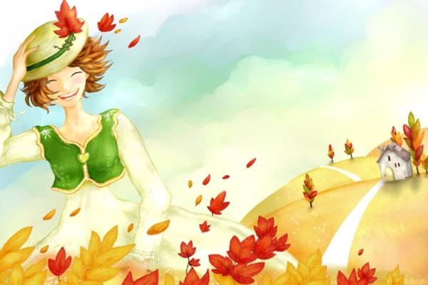 Картинка к Сказке об осеннем ветре