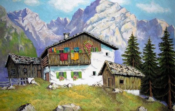 Картинка к сказке Васина гора