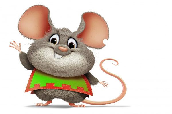 Картинка к сказке Лис и мышонок