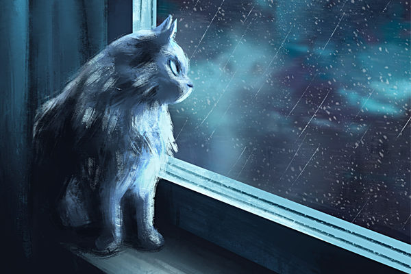 Картинка к сказке Морозное окошко