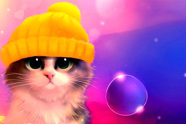 Картинка к сказке О чём думал котёнок