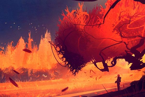 Картинка к сказке Осенняя игра