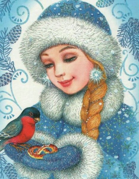 Картинка к сказке Позвоните снегурочке